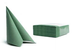 50 Servietten Softpoint  38x38cm grün