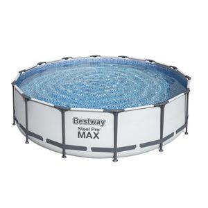 Bestway Steel Pro Max™ Frame Pool Komplett-Set, rund, 427x107cm, 56950