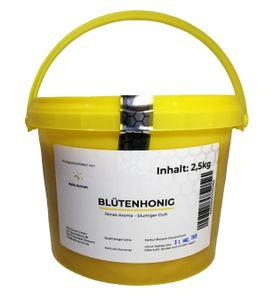Deutscher Honig im 2,5 kg-Honigeimer - Blütenhonig