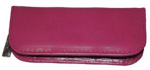 Reiseapotheke Leer 20er Pink echtes Leder