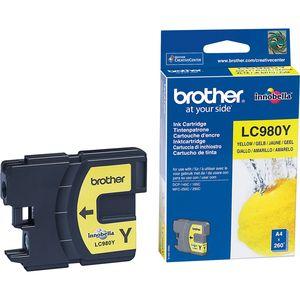 Brother LC-980Y Tintenpatrone - Gelb - Tintenstrahl - 260 Seiten - 1er Pack
