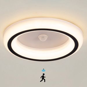 Ailiebe Design® LED Deckenlampe mit Bewegungsmelder Flurlampe Flur Diele Keller