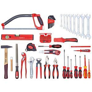 Universalsatz BASIS im Werkzeugkoffer. 72-teilig