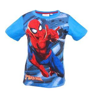 Marvel Spiderman Kinder T-Shirt Blau - Größe 104