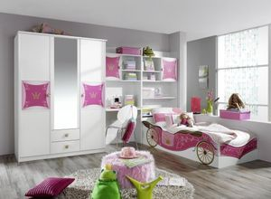 RAUCH A9830_OB77 Jugendzimmer Kate 3-tlg. Set in Weiss