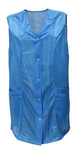 7/8 Kasack 85 cm Kittel kurz Schürze Dederon Polyester, Größe:52, Modell:Modell 1