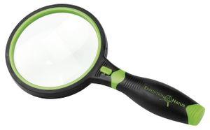 Moses Lupe mit Licht Expedition 19 cm schwarz / grün