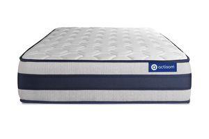 Actiflex ergo matratze 100x220cm, Taschenfederkern und Memory-Schaum, Härtegrad 4, Höhe :24 cm, 5 Komfortzonen