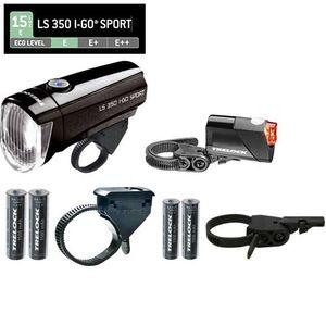 Trelock Batterie-Front-/Rückbeleuchtung LS 350 / LS 710 , 15 LUX