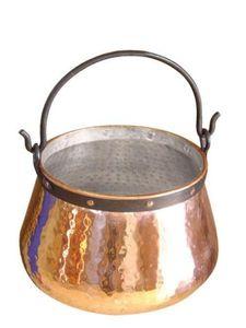 'CopperGarden' Kupferkessel 5 Liter verzinnt - Hexenkessel