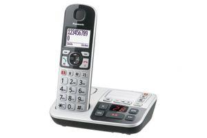 Panasonic KX-TGE 520GS silber, Farbe:Silber