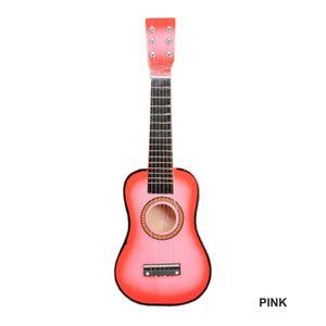 Kindergitarre Akustikgitarre Intellektuelle 8 Farben 6 Saiten Ukulele Geschenk