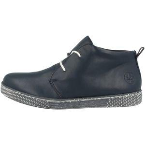 Rieker Damen Stiefeletten Desert Boots L1210, Größe:38 EU, Farbe:Blau