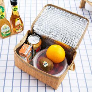 Isoliertasche, Kühltasche, Lunchpaket, Lunchbag, Isoliert Reisbeutel