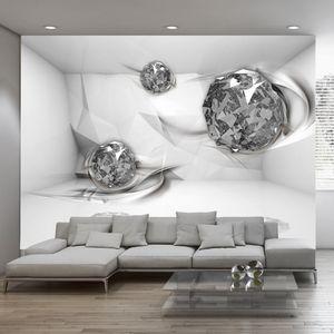 Vlies Tapete ! Top ! Fototapete ! Wandbilder XXL ! 350x256 cm ABSTRAKT 3D OPTISCH a-A-0131-a-c