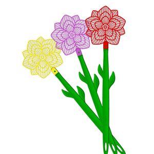 Fleigenklatsche Bros Blume mix Fliegen-Klatsche Insekten-Vernichter Fliegen-Fänger