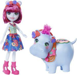 Enchantimals Themenpack Hedda Hippo & Lake Puppe