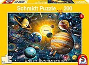 Schmidt Spiele Puzzle Unser Sonnensystem, 200 Teile