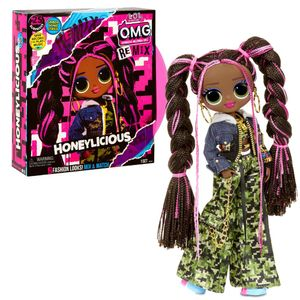 MGA Entertainment L.O.L. Surprise OMG Remix AA Doll- Honeylicious
