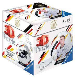RAVENSBURGER 3D Puzzle-Ball DFB-Nationalspieler Toni Kroos Kinderpuzzle 54 Teile