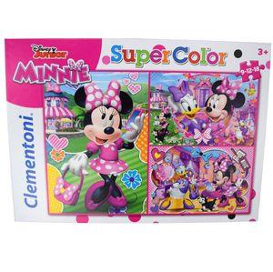 Clementoni Kinderpuzzle Disney Junior  Minnie Mouse 9-12-18 Teile Puzzle