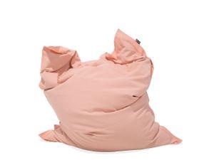 Sitzsack Rosa 140 x 180 cm Indoor Outdoor Stark wasserabweisender Langfristige Volumenstabilität Leicht Gewicht