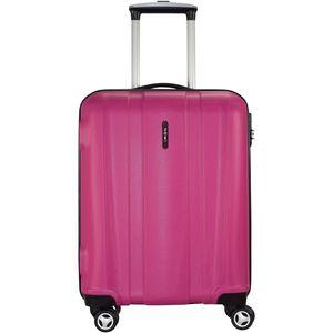 Nowi ABS 4-Rollen Kabinentrolley 56 cm Pink