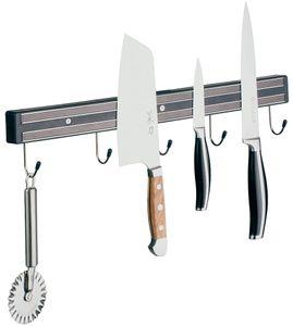 APS Magnet-Messerhalter mit 2 Magnetschienen und zusätzlichen Aufhängehaken Länge 60 cm