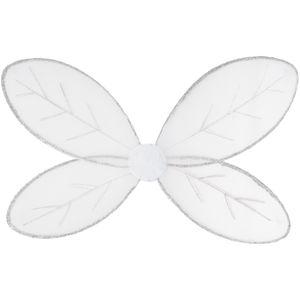 dressforfun Schmetterlingsflügel - weiß