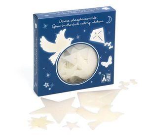 Djeco Sticker Sterne Sternenhimmel phosphoreszierend Leuchtsticker