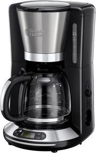 Russell Hobbs 24050-56 Velocity Kaffeeautomat Edelstahl / schwarz, Farbe:Edelstahl-Schwarz