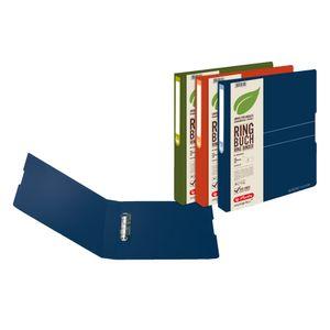 3x Herlitz Ringbuch / DIN A4 / 25mm Füllhöhe / aus PP / 3 verschiedene Farben