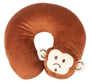 KidsExperts Nackenrolle Monkey ab 5 Jahre braun, 26138