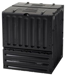 Komposter ECO-King 400 Liter schwarz Garantia 627004