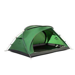 (Grün)Campingzelte 2 Personen Ultraleichtes Campingzelt Wasserdichte Doppelschicht mit Matte