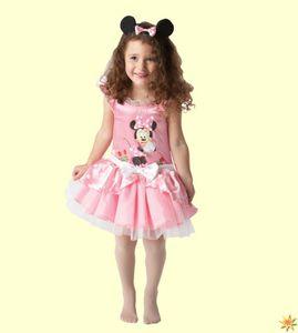 Rubie's - Kinder Ballerina-Kostüm Minnie Maus - Rosa - Kleinkindgröße