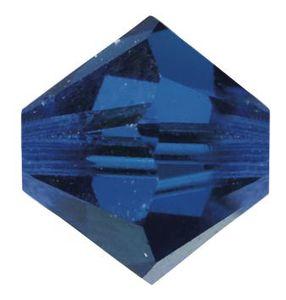 Swarovski-Perlen, Ø 4mm, 25 Stück Capriblue