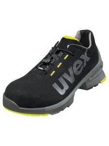 uvex Sicherheitsschuhe uvex 1 Halbschuh S2 SRC schwarz/limette Größe