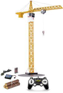 Carson 1:20 Tower Crane 2.4G 100% RTR, 90 Minuten Betriebszeit, ferngesteuerter Kran, 500907301