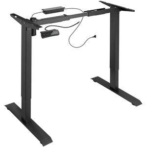 tectake Tischgestell elektrisch höhenverstellbar Memory-Funkt. - schwarz