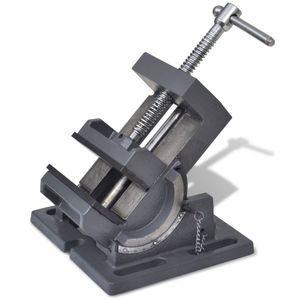 anlund Maschinenschraubstock Kippbar Handbetrieben 110 mm