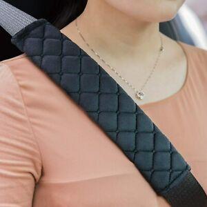 2x Gurtschoner Auto Gurtpolster Sicherheitsgurt Schulterpolster Samtoberfläch