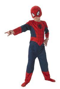 RUBIE'S Faschingskostüm - Spiderman 3-teilig Flat Chest, Größe: S