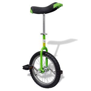 dereoir Einstellbares Einrad 40,7 cm grün
