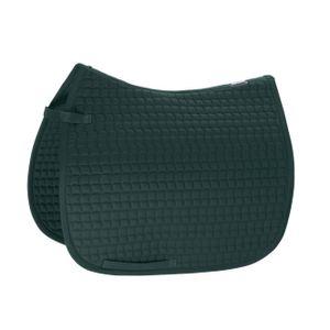 ESKADRON Standard Schabracke Baumwolle, racinggreen, Dressur