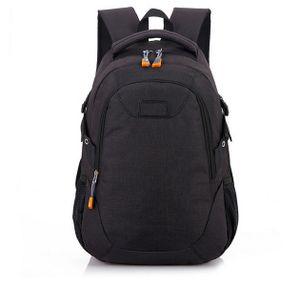 Rucksack Schultasche Reisetasche Wasserdichte Nylon Tasche Umhängetaschen Laptop Sport Daypack,schwarz