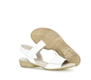 Gabor Sandale Riemchen weiß .. in Weiß, Größe