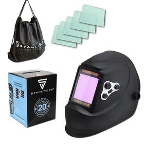 STAHLWERK ST-900X Vollautomatik Schweißhelm Schweißermaske inkl 5 Ersatzscheiben und Tasche