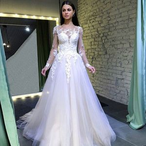 See Through Lace Brautkleid Elegant Brautjungfernkleider