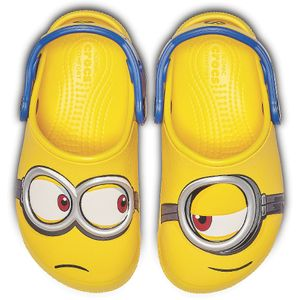 Crocs Kinder Sport Freizeit Clog Kids' Crocs Fun Lab Minions™ Clogs gelb, Größe:28-29